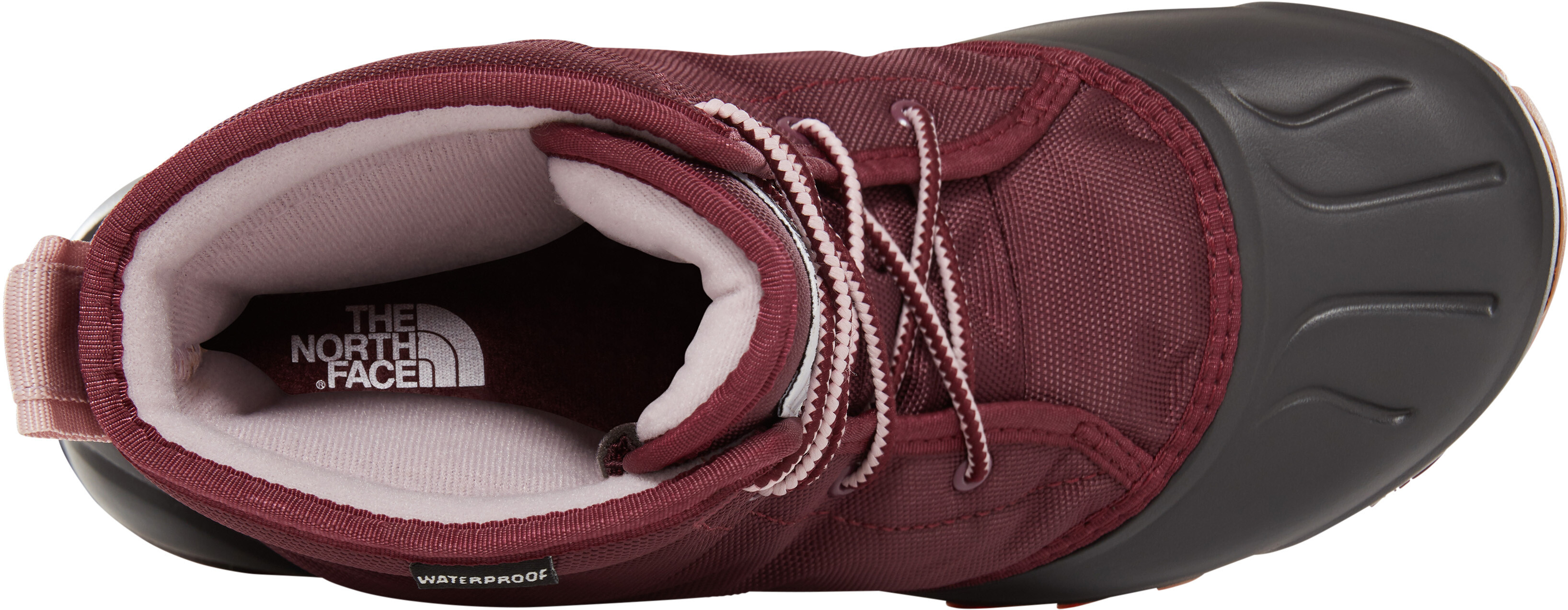 68dff10f727cb The North Face Tsumoru - Chaussures Femme - rouge noir sur campz.fr !